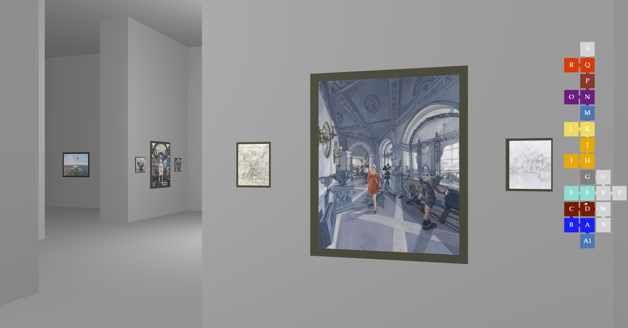 John Wonnacott's Gallery Screen Shot